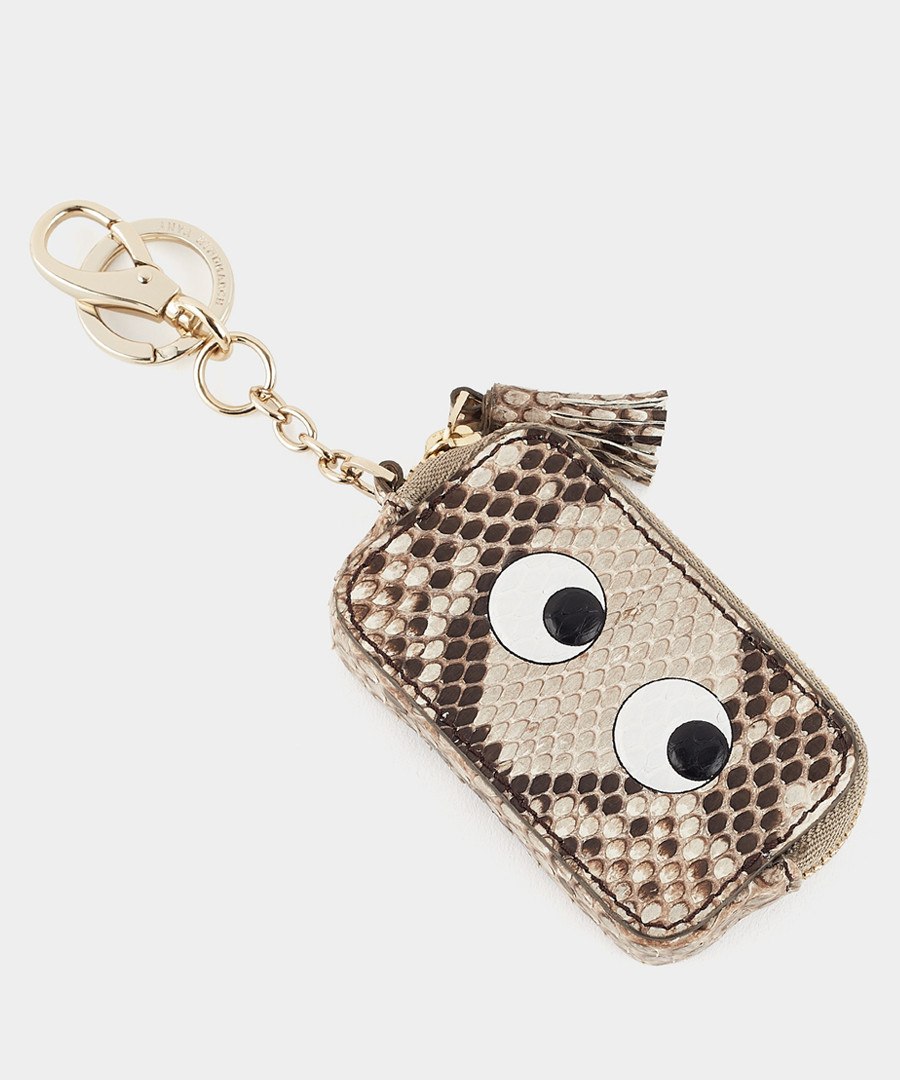Eyes Reticulated python coinpurse Sale - anya hindmarch