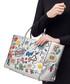 Wink Stickers silver-tone goatskin bag Sale - anya hindmarch Sale