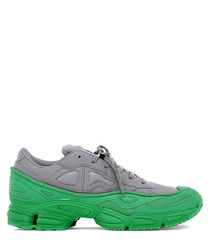 RS Ozweego grey & green sneakers