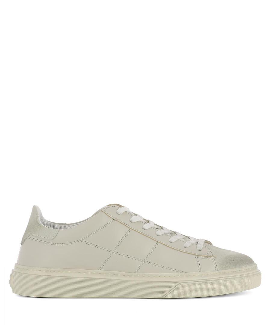 Beige leather sneakers Sale - hogan