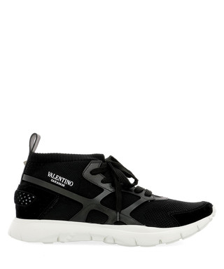 a76d45dcfa5 Sound High black fabric sneakers Sale - valentino garavani Sale