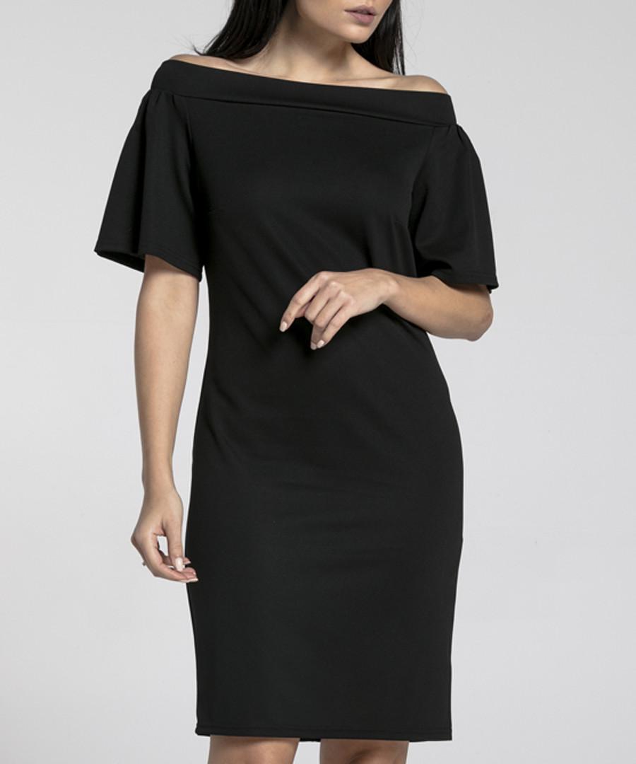 black Bardot dress Sale - naoko