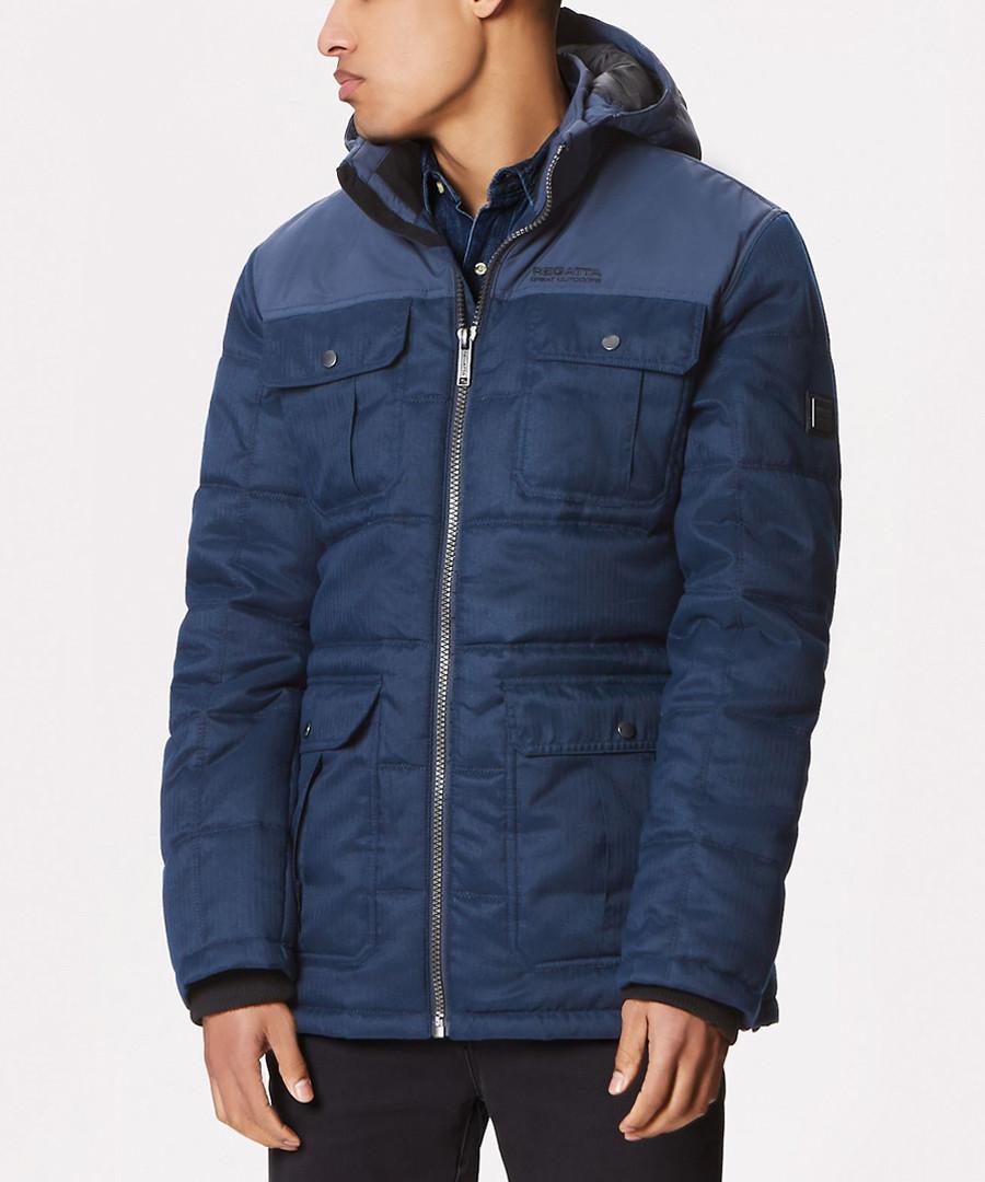 Men's Navy full-zip pocket jacket Sale - regatta