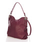 Wine leather slouch shoulder bag Sale - giorgio costa Sale