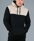 RAFOLA sand & black pure cotton hoodie Sale - devote Sale