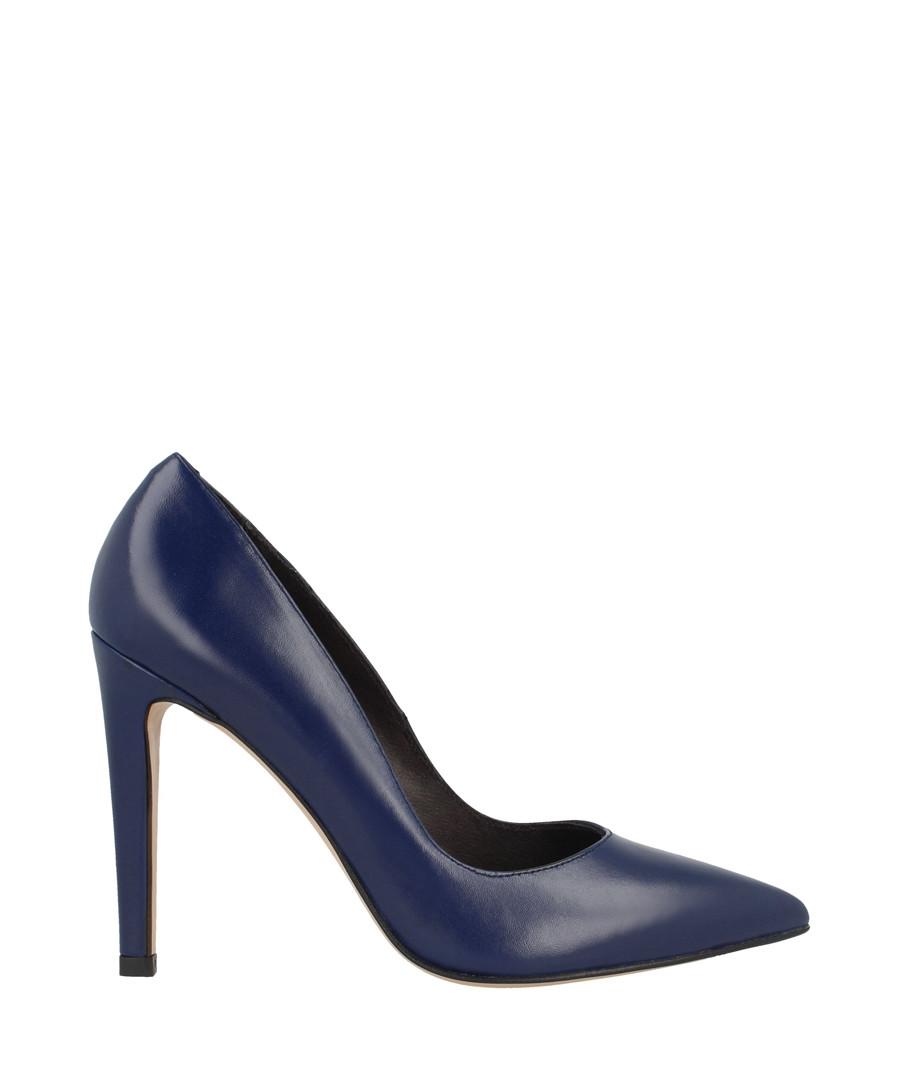 Blue leather court heels Sale - roberto botella