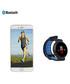 Blue round Bluetooth smartwatch Sale - Inki Sale
