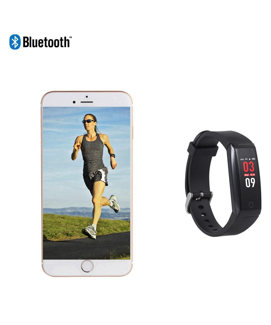 Black sleek Bluetooth smartwatch Sale - Inki