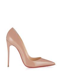 So Kate 120 nude leather stilettos