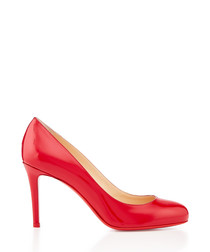 Fifille 85 red patent leather pumps