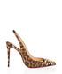 Drama Douce 100 Lurex leopard slingbacks Sale - christian louboutin Sale