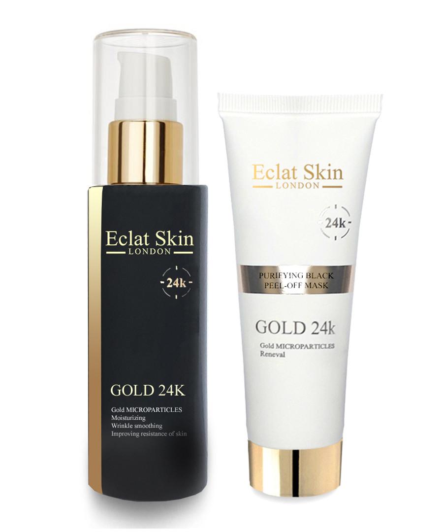 2pc Purifying peel-off mask & serum set Sale - eclat skincare