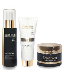3pc moisturiser, serum & mask set