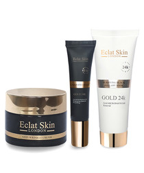 3pc moisturiser, eye cream & mask set