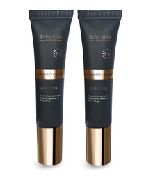 2pc 24k gold under-eye cream set