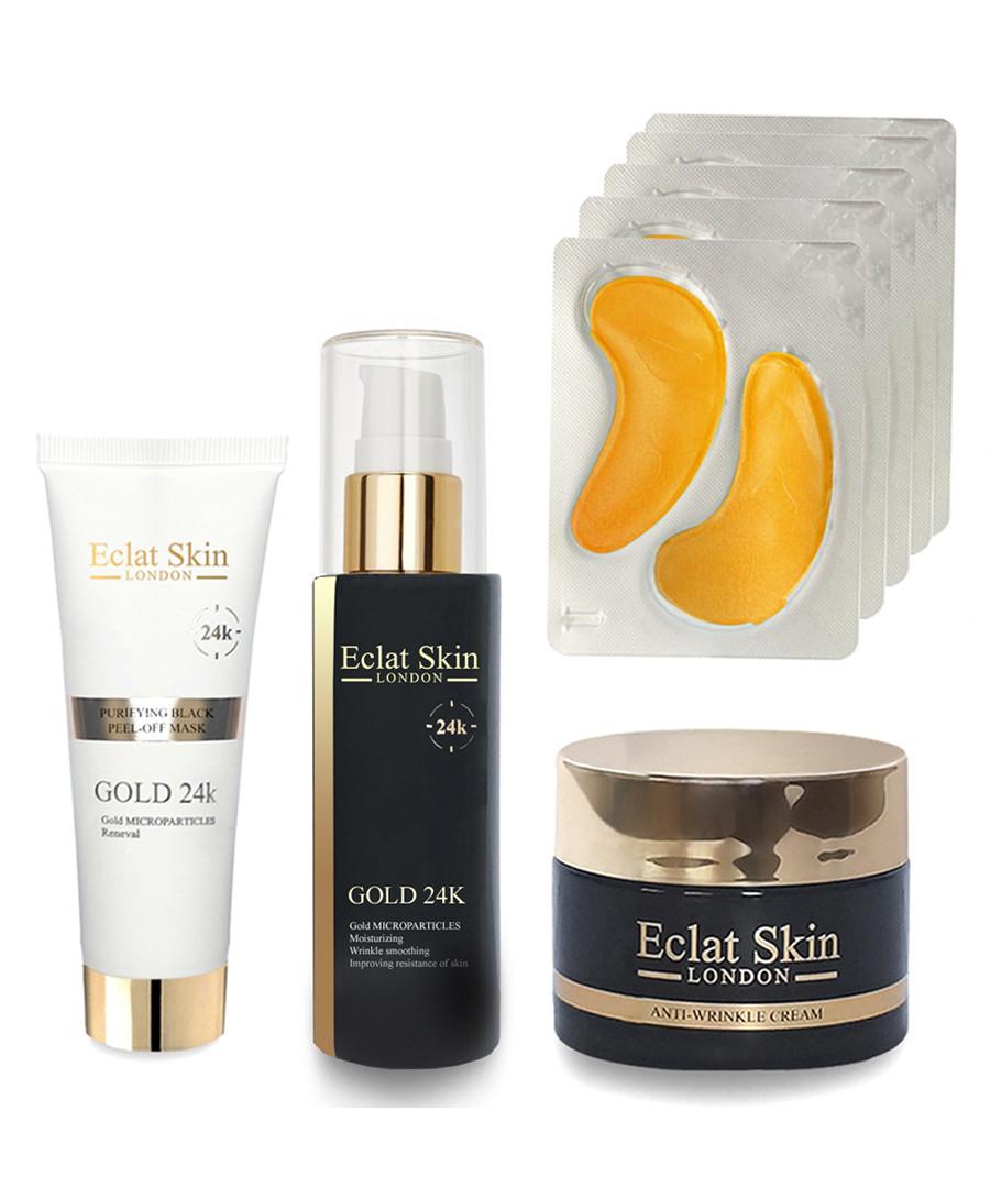 4pc Skin transformation 24k gold set Sale - eclat skincare