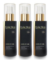3pc Anti-wrinkle 24k gold serum set