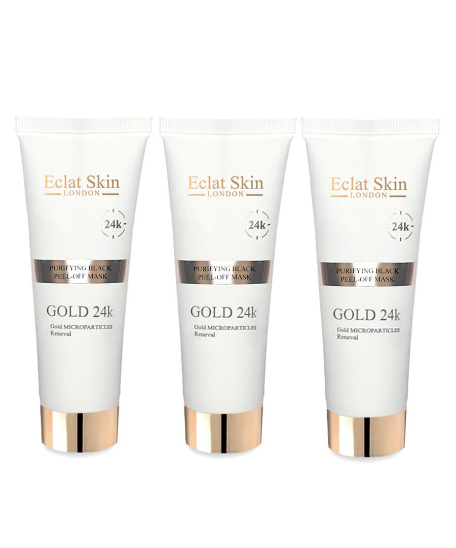 3pc Purifying 24k gold mask starter set Sale - eclat skincare