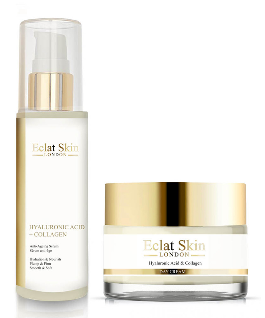 2pc Hyaluronic acid serum & cream set Sale - eclat skincare