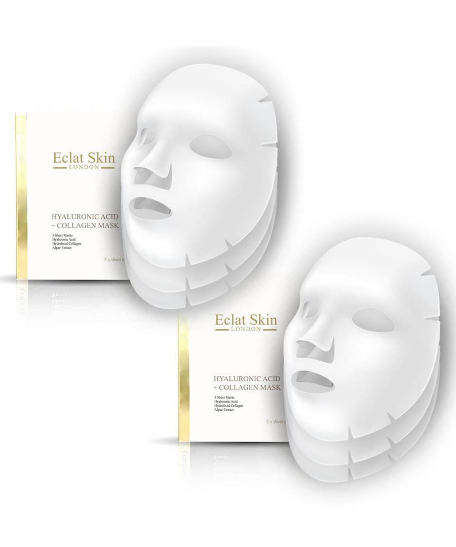 2pc Hyaluronic acid booster sheet masks Sale - eclat skincare