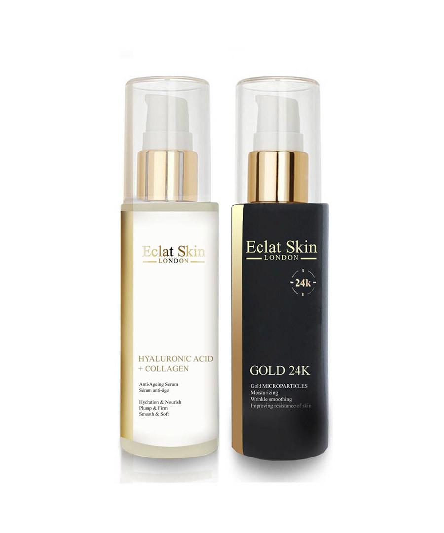 2pc Dual-acting double elixir serum set Sale - eclat skincare