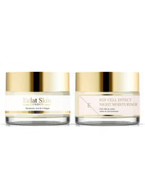 2pc morning booster & night cream set