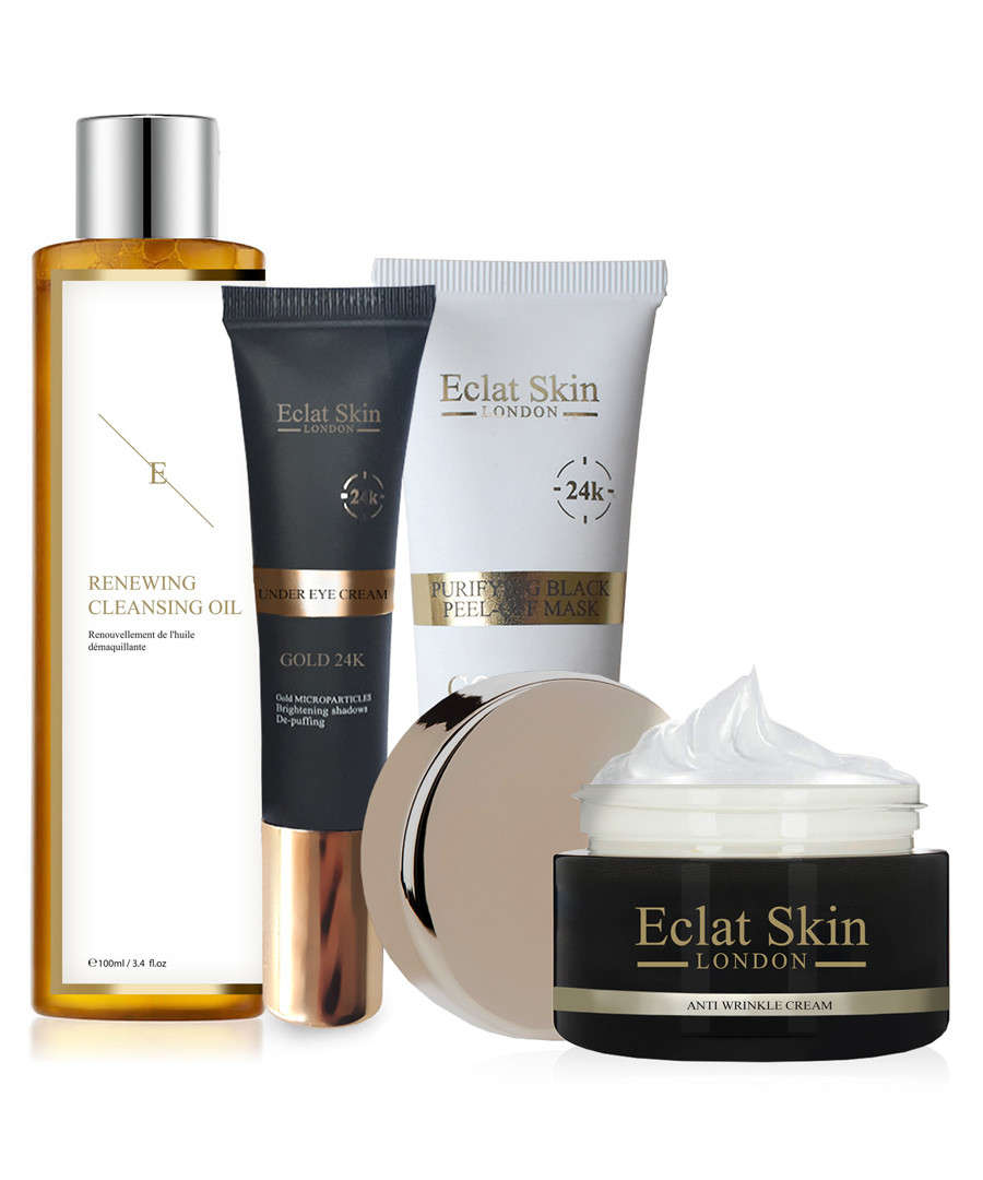 4pc 24k gold ultimate youth routine set Sale - eclat skincare