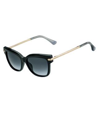 4dd22fce0d05 Ara black & gold-tone D-frame sunglasses Sale - jimmy choo Sale