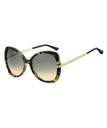 Cruz havana & brown gradient sunglasses