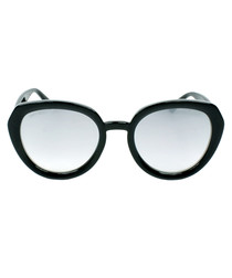 Mace black glitter sunglasses