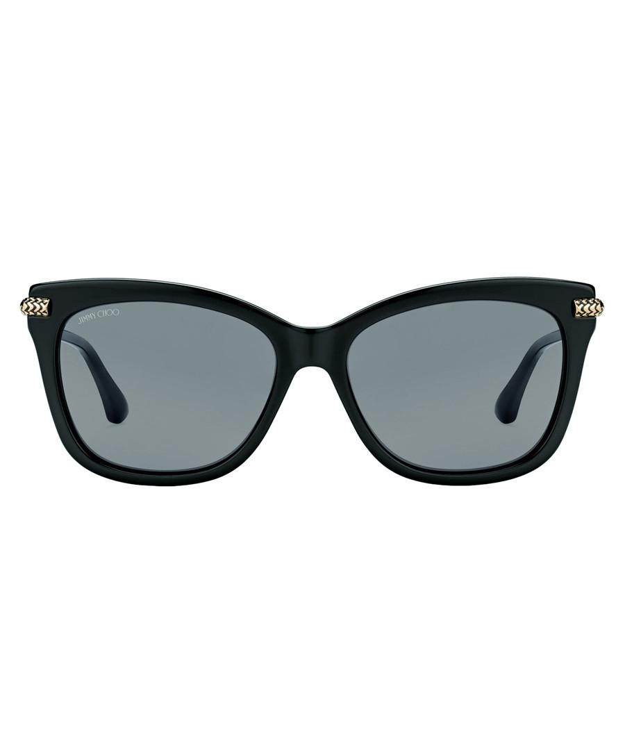 Shade black & grey D-frame sunglasses Sale - Jimmy Choo