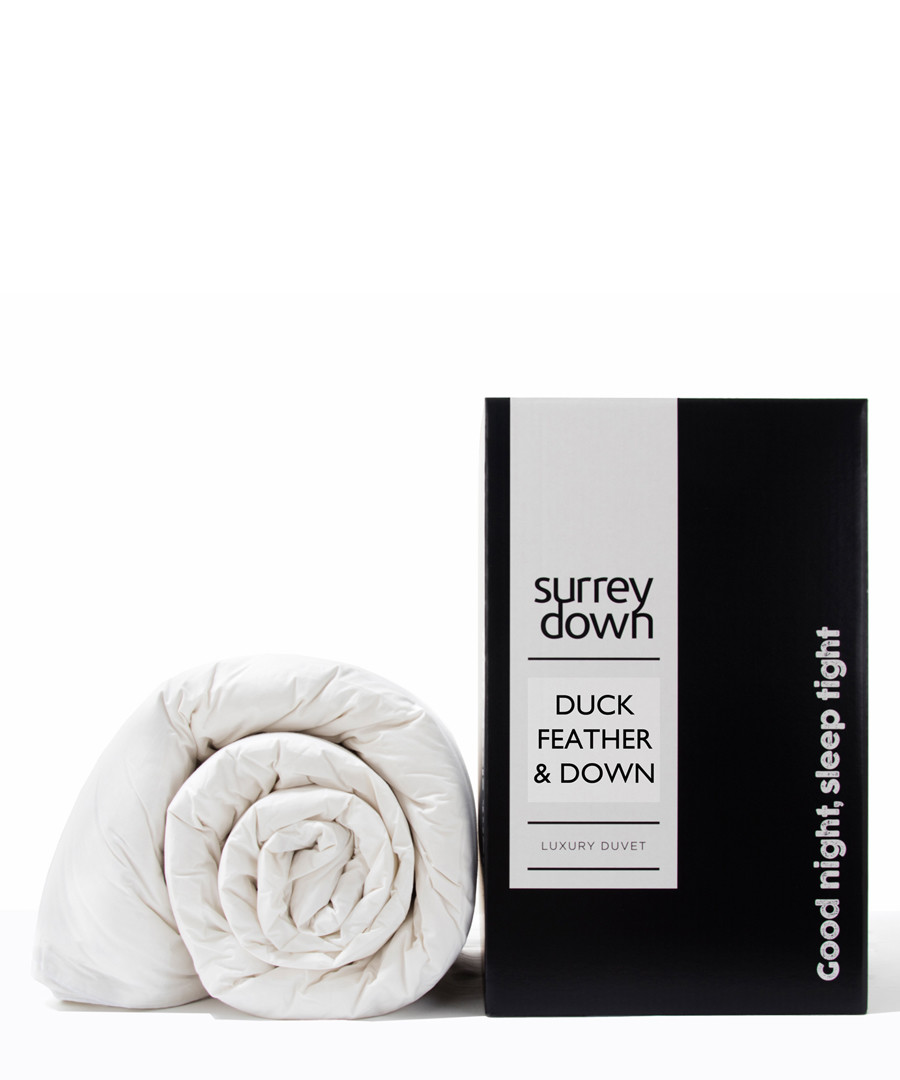 Double Duck Feather & Down Duvet 4.5T Sale - Surrey Down