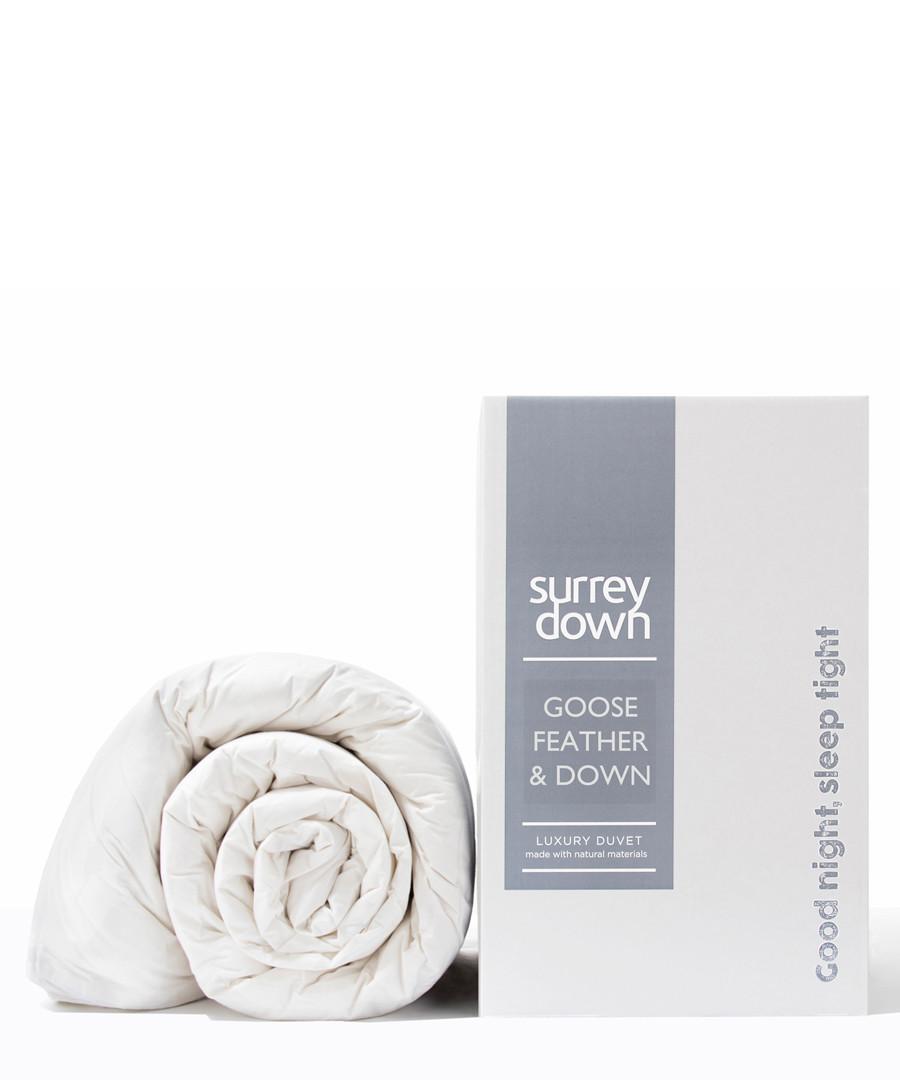 Double Goose Feather & Down duvet 6.0T Sale - surrey down