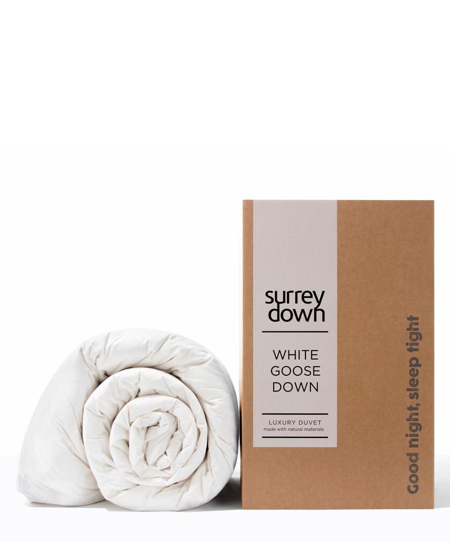 Superking Goose Down duvet 4.5T  Sale - surrey down