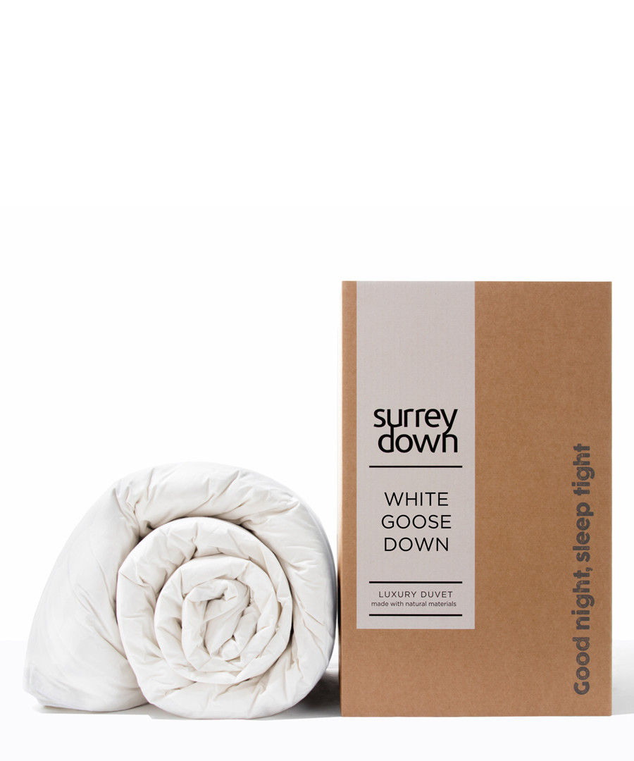 Superking Goose Down duvet 6.0T Sale - surrey down