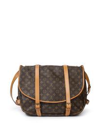 Saumur Vachetta leather shoulder bag