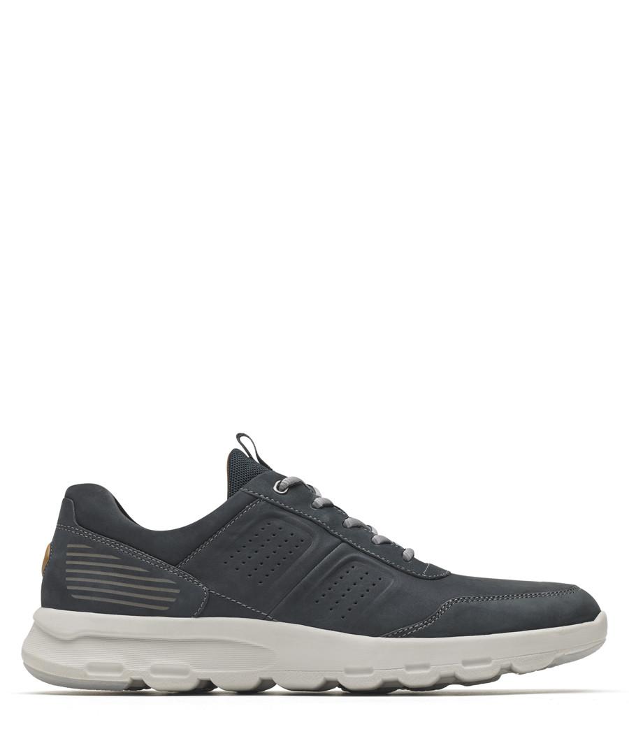 Ubal blue leather sneakers Sale - rockport