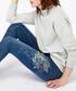Afina indigo embroidered skinny jeans Sale - monsoon Sale