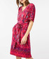 Lauren pink tie-waist tunic dress Sale - monsoon Sale