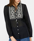 Katana black embroidered blouse Sale - monsoon Sale