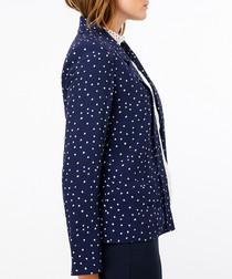 Sydney navy spotted jacket