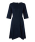 Mary navy pure linen dress Sale - monsoon Sale