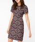 Tyla navy Jacquard mini dress Sale - monsoon Sale