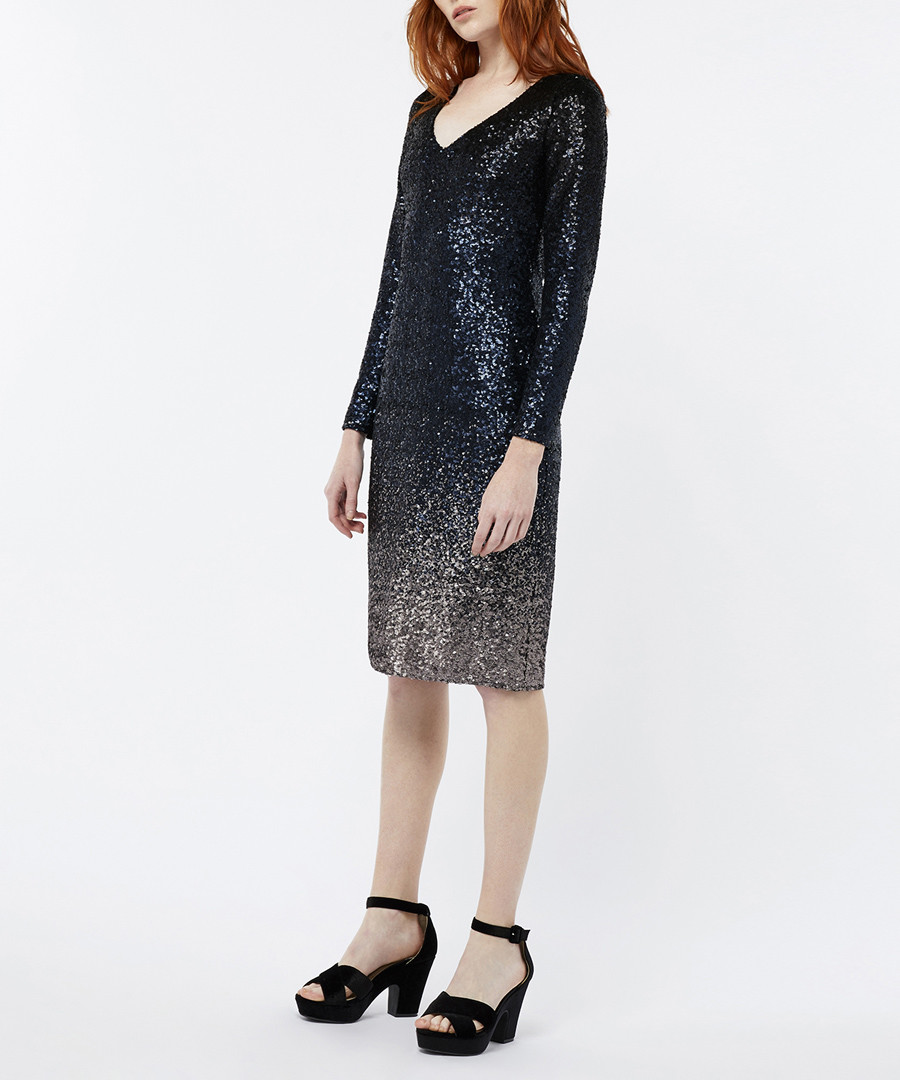 Heidi ombre sequin dress Sale - monsoon