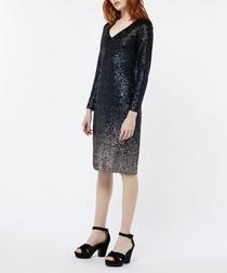 Heidi ombre sequin dress