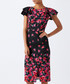 Eva floral print split midi dress Sale - monsoon Sale