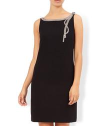 Ruby black necklace mini dress