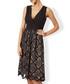 Sabina black lace plunge dress Sale - monsoon Sale
