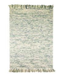 MAYA TEAL wool rug 80 X 150cm