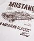 Mustang Manual ecru cotton blend T-shirt Sale - Petrol heads Sale